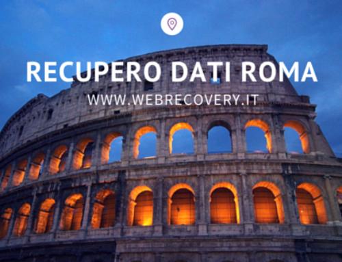 Recupero Dati server a Roma