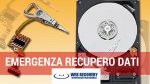 EMERGENZA centro recupero dati
