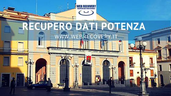 Recupero Dati raid e server a Potenza