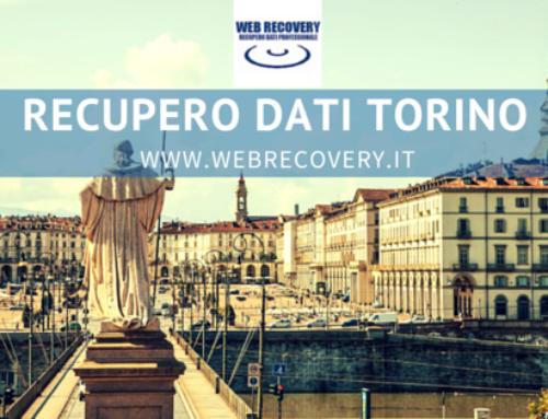 Recupero Dati raid e server a Torino