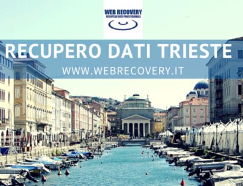 Recupero Dati raid e server a Trieste