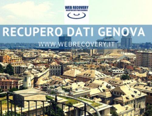 Recupero Dati a Genova